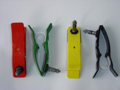 Eletrôdos tipo clip (jogo com 4 un.) infantil importados